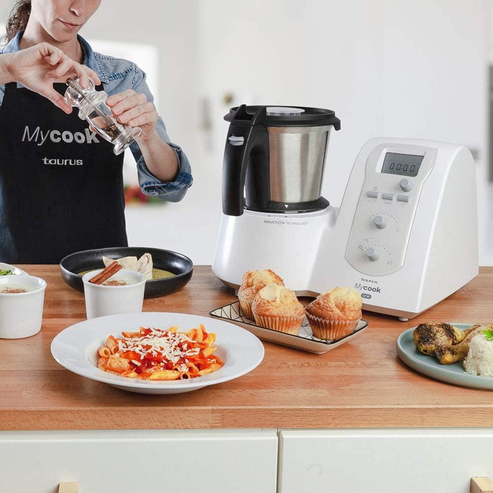 ¡Oferta! Taurus Mycook One Robot de Cocina Inteligente Multifunción a mitad de precio
